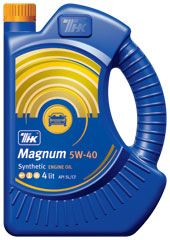 Моторное масло ТНК Magnum Synthetic 5W-40