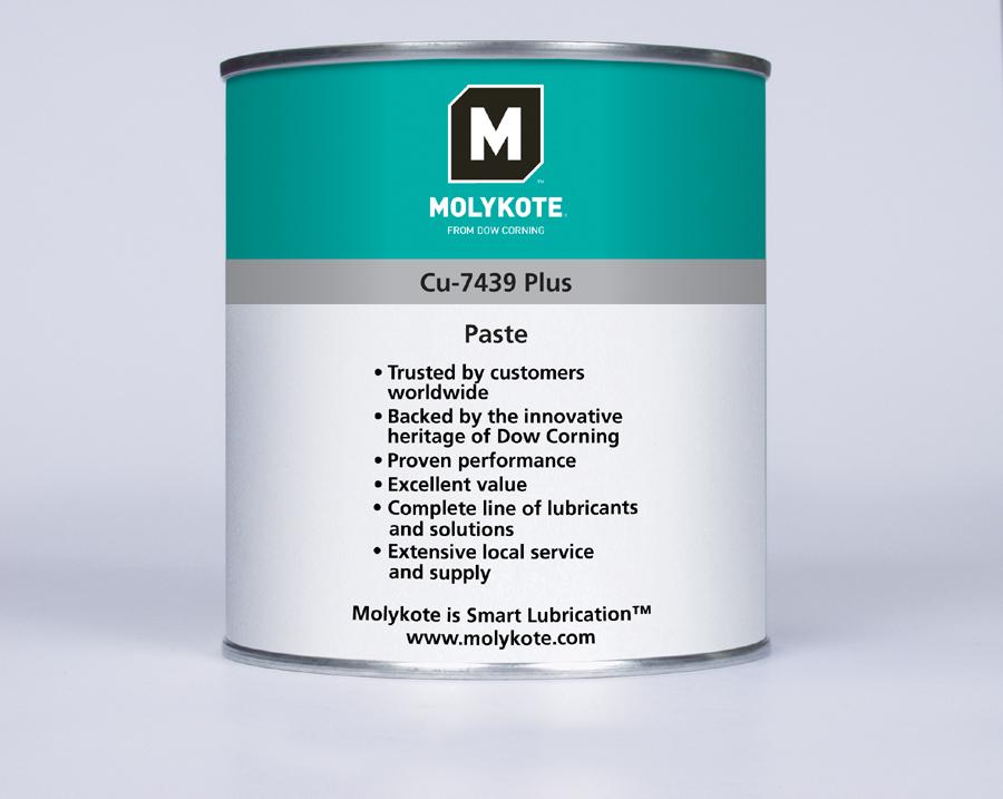 Паста Molykote Cu 7439 Plus