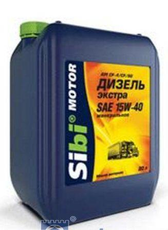 моторное масло Sibi-Motor Дизель Приоритет 15W-40 для автомобилей КамАЗ