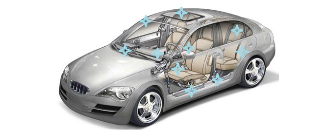 Смазочные материалы Molykote для повышения уровня комфорта автомобиля