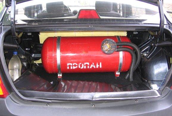 Двигатель на газовом топливе