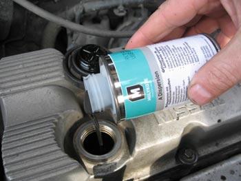 Дисперсия Molykote A Dispersion для двигателя автомобиля