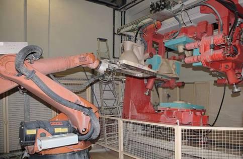 паста Molykote HSC Plus для робота-формовщика санфаянсовых изделий