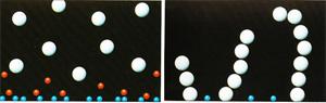 начало и середина полимеризации