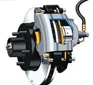 дисковый тормозной механизм