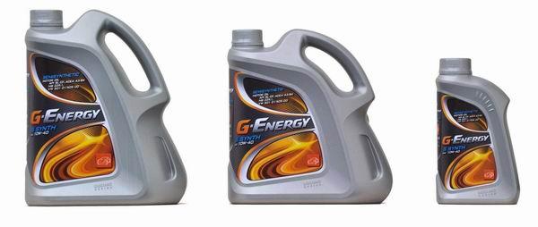 Всесезонные моторные масла G-Energy