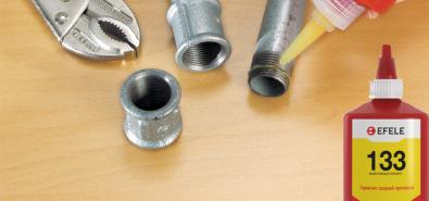 Сравнение импортных анаэробных состава Loctite 572, Loctite 577 и герметика трубных резьб EFELE 133 российского производства.