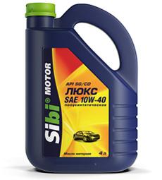 Sibi Motor Люкс 5W-40, 10W-40, 15W-40SG/CD