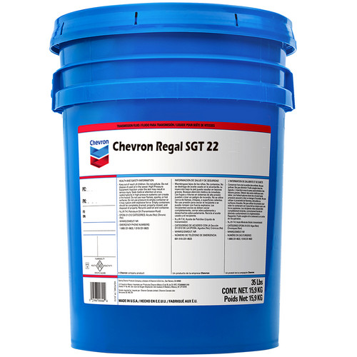 Chevron Regal SGT 22