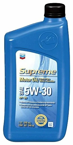 Chevron Supreme 5W-30