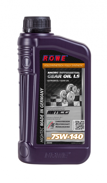 Rowe Hightec Racing Differential Gear Oil LS 75W-140