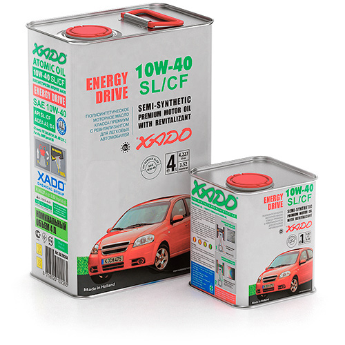 Xado Atomic Oil 10W-40 SL/CF