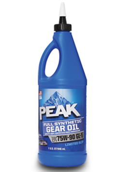 Peak Full Synthetic Gear Oil 75W-90