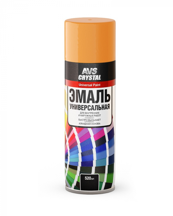 AVS Crystal Universal Paint Orange