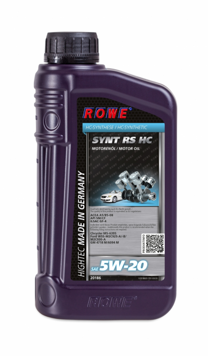 Rowe Hightec Synt  RS HC SAE 5W-20