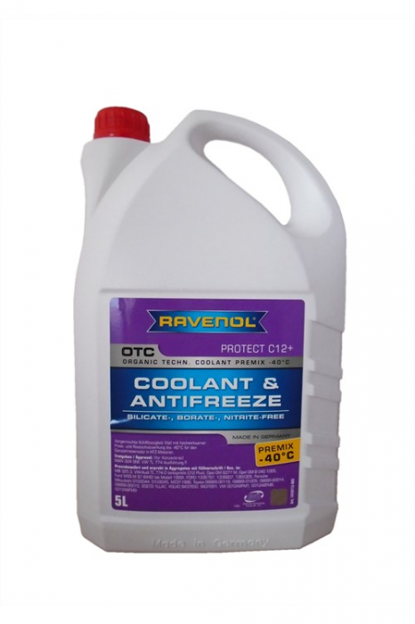 OTC Coolant & Antifreeze Premix -40 °C Protect C12+