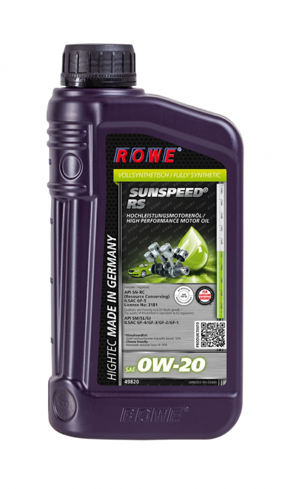Rowe Hightec Sunspeed RS SAE 0W-20