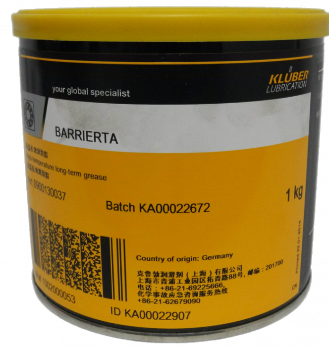Kluber Barrierta L 25 DL