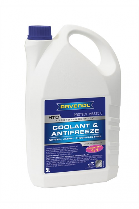 HTC Coolant & Antifreeze Protect MB325.0 Concentrate