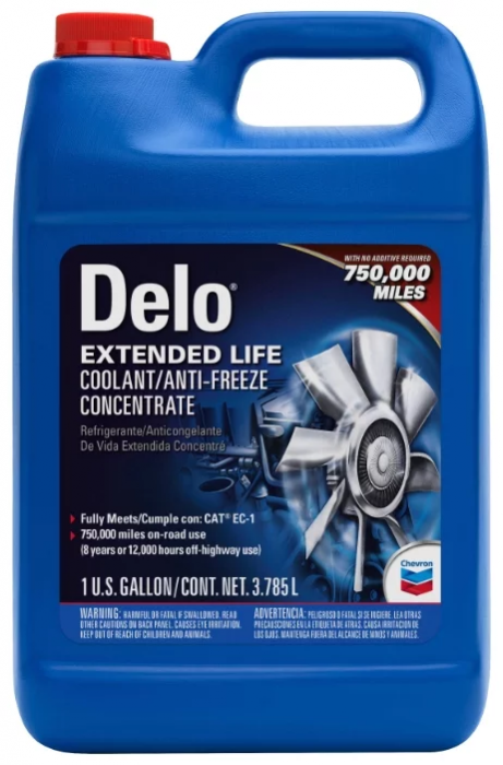 Chevron Delo Extended Life Coolant/Antifreeze Concentrate
