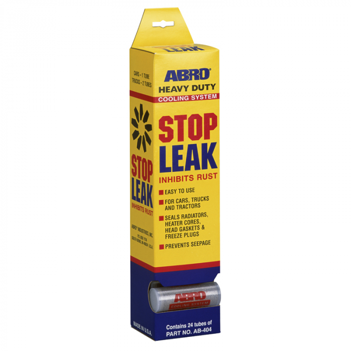 Abro Heavy Duty Cooling System Stop Leak Powder