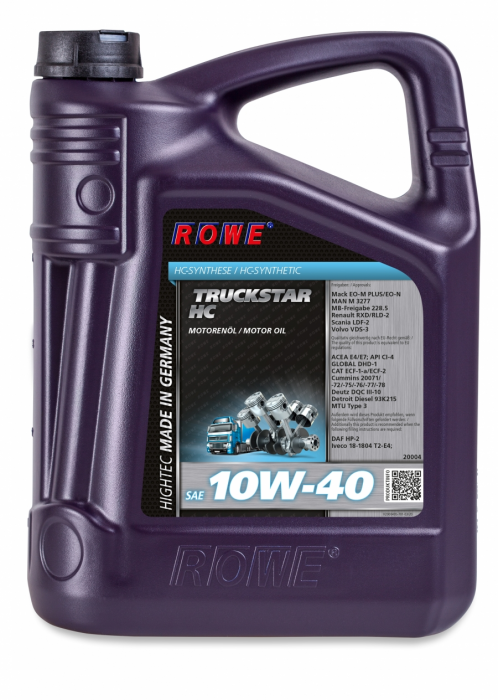Rowe Hightec Truckstar SAE 10W-40 HC