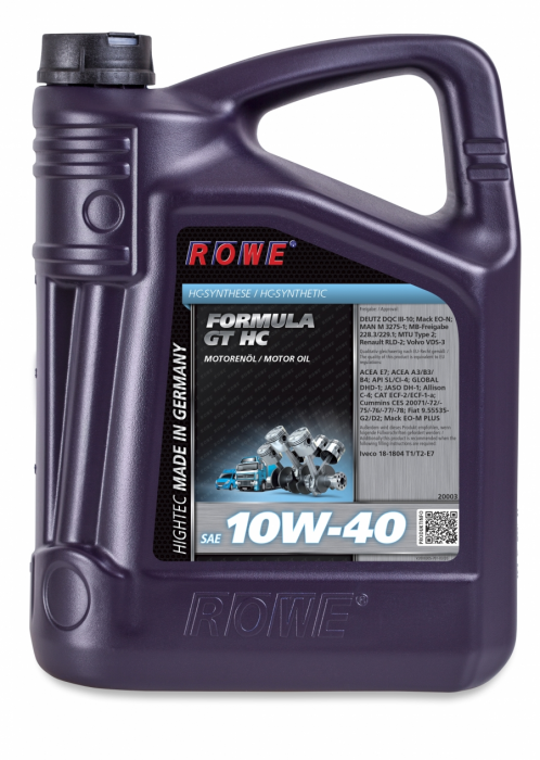 Rowe Hightec Formula GT SAE 10W-40 HC