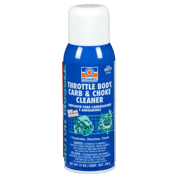 Permatex Throttle Body, Carb & Choke Cleaner