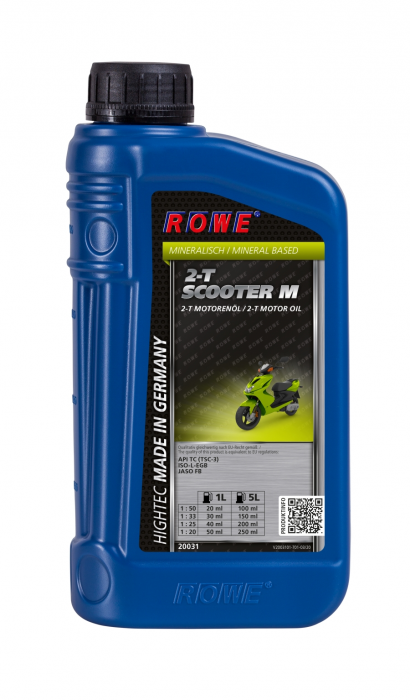 Rowe Hightec 2-T Scooter M