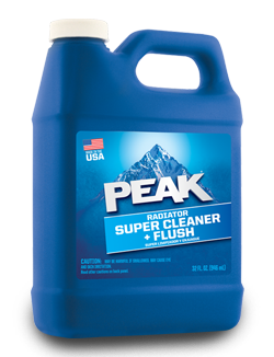 Peak Radiator Super Cleaner + Flush