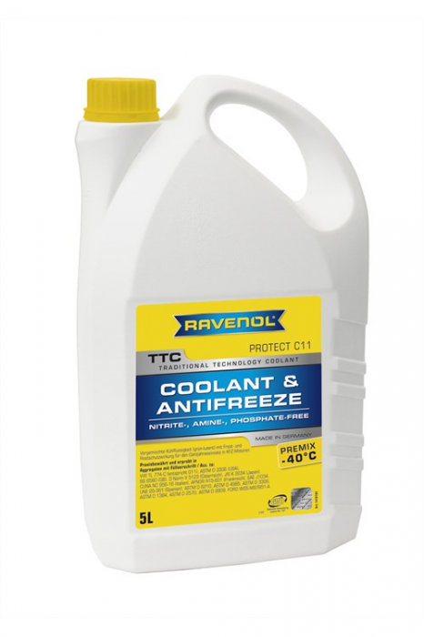 TTC Coolant & Antifreeze Premix -40 ºC Protect C11