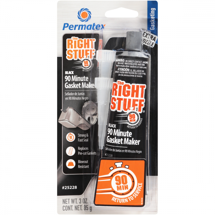 Permatex The Right Stuff 90 Minute Gasket Maker Black