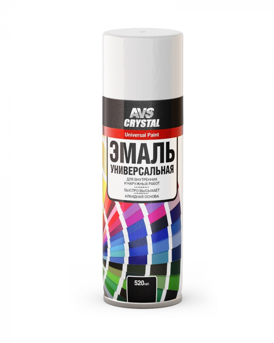 AVS Crystal Universal Paint White Gloss