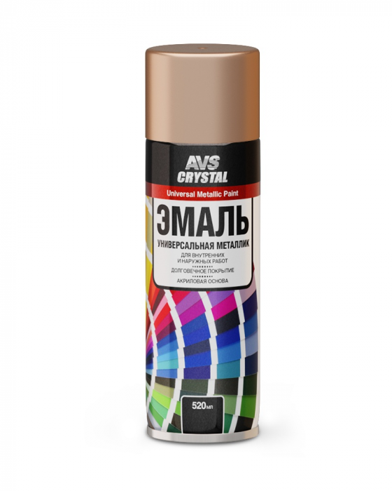 AVS Crystal Universal Metallic Paint Bronze