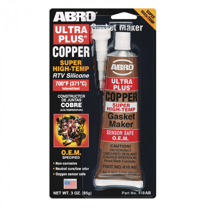 Abro Ultra Plus Copper Gasket Maker