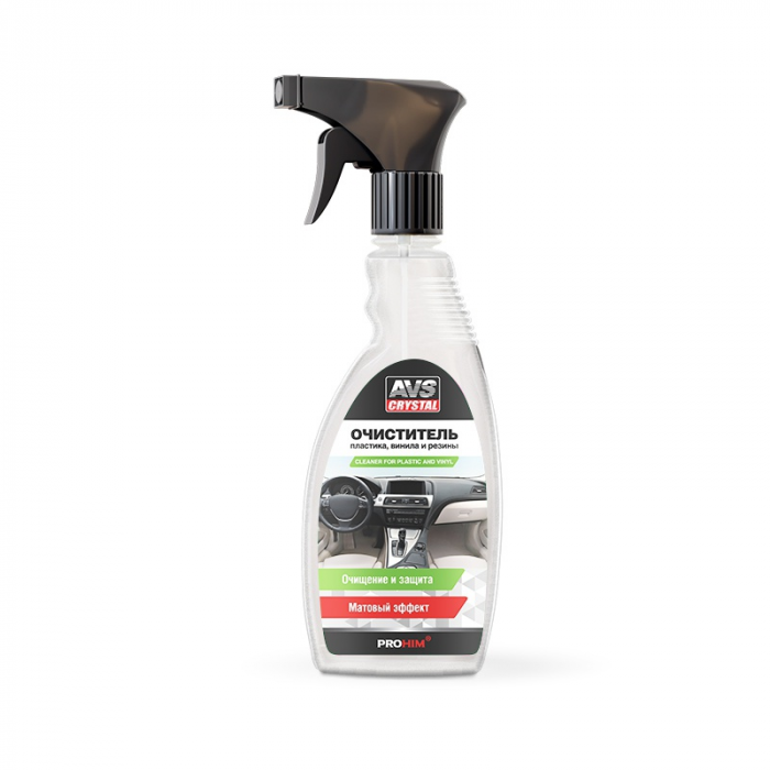 AVS Crystal Cleaner for Plastic & Vinyl