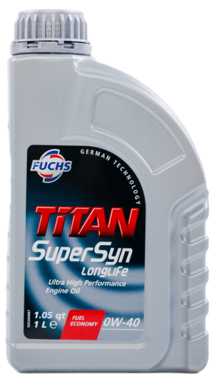 Titan Supersyn Longlife SAE 0W-40