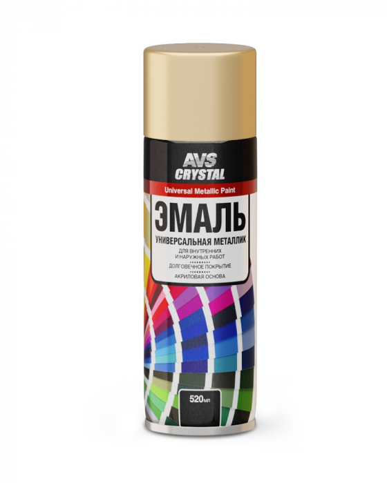 AVS Crystal Universal Metallic Paint Gold