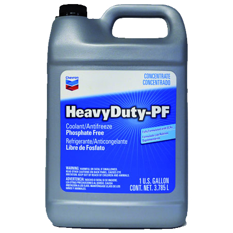 Chevron Heavy Duty PF Antifreeze/Coolant Concentrate & Prediluted 50/50