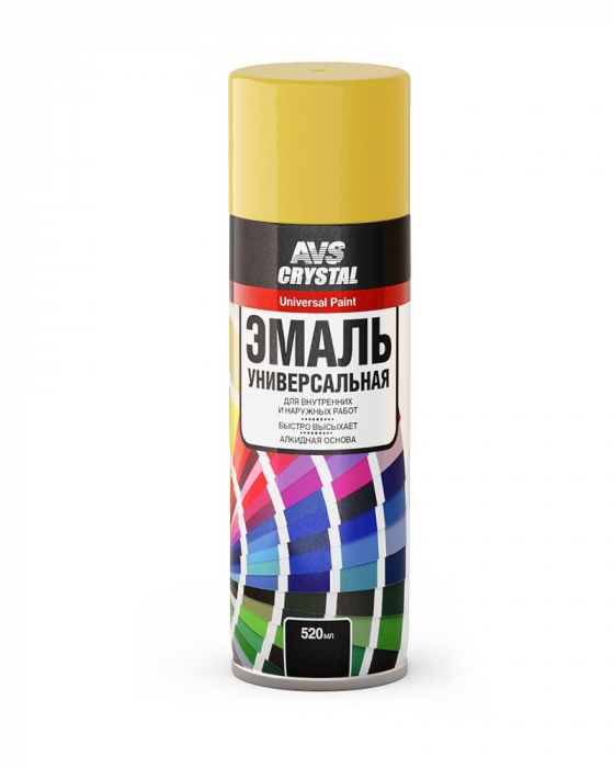 AVS Crystal Universal Paint Yellow