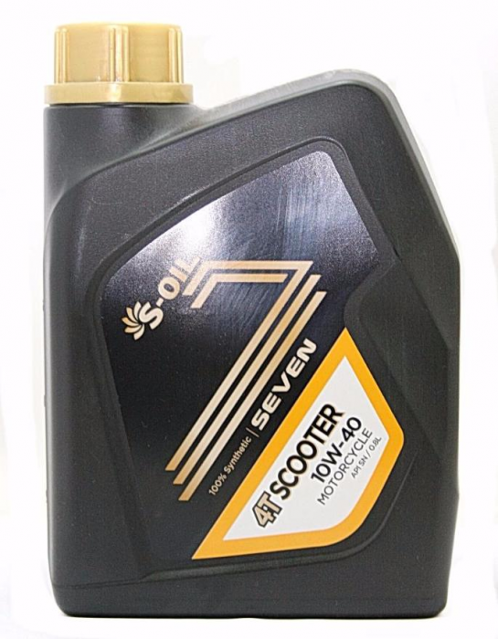 S-Oil 7 4T Scooter 10W-40