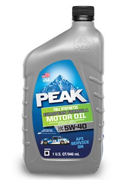 Peak Full Synthetic Euro Motor Oil