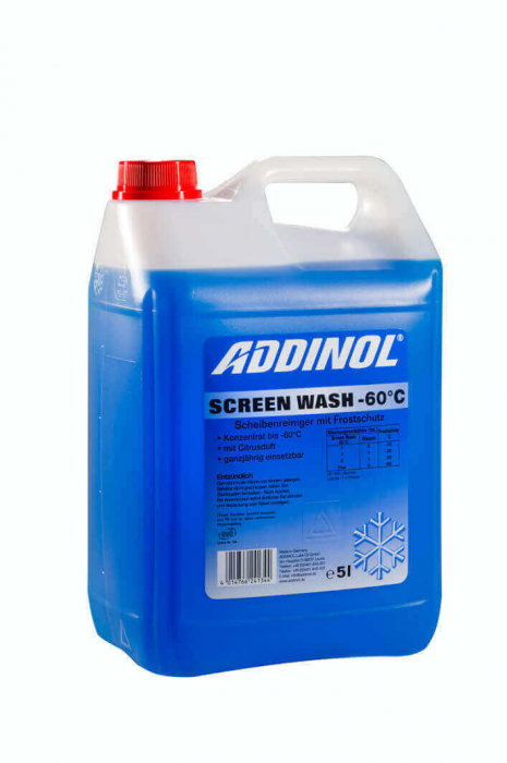 Addinol Screen Wash -60 °C