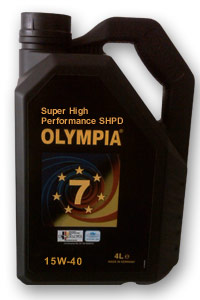 Olympia Super High Performance SHPD 15W-40 API CG-4