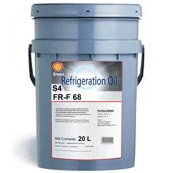 Shell Clavus R 68 новое название Shell Refrigeration Oil S4 FR-F 68