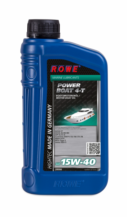Rowe Hightec Power Boat 4-T SAE 15W-40