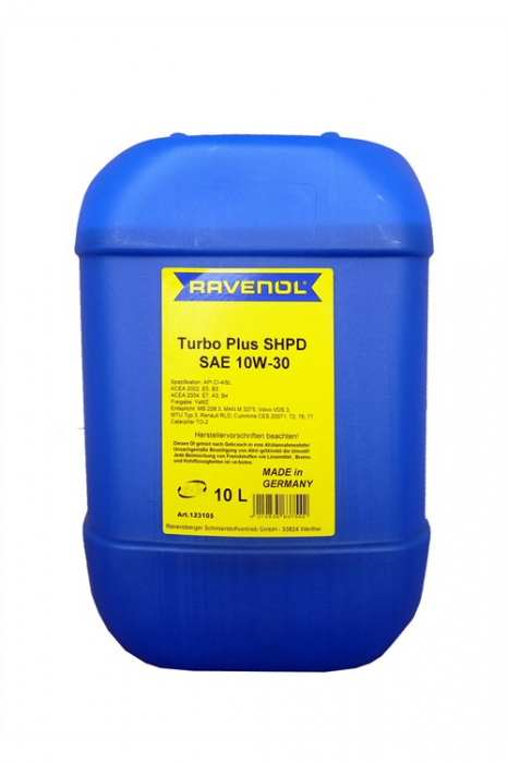 Ravenol Turbo Plus SHPD 10W-30