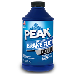 Peak Brake Fluid DOT 3