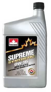 Petro-Canada Supreme Synthetic 0W-16