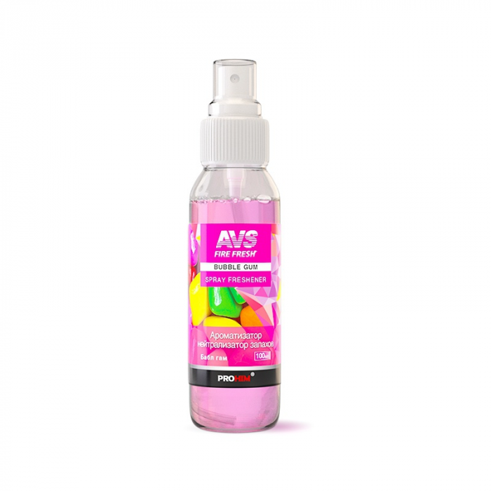 AVS Spray Freshener Bubble-Gum